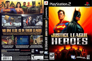 Cheat Lengkap Justice League Heroes PS2