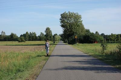 Droga w kierunku Rudy