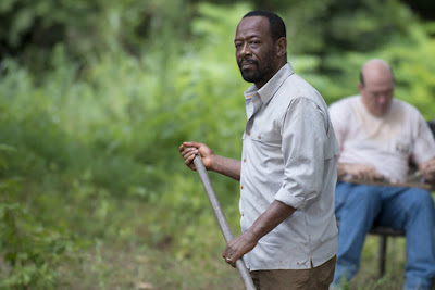 Lennie James John Carroll Lynch The Walking Dead Here's Not Here AMC FOX España