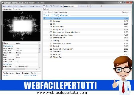 Foobar2000 - Lettore audio avanzato e gratuito per Windows, Macintosh e smartphone Android