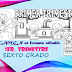 EXAMEN en formato editable DE SEXTO GRADO, CORRESPONDIENTE AL PRIMER TRIMESTRE, CICLO ESCOLAR 2019-2020.