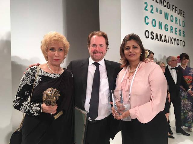 Blossom Kochha with Mr.Klaus Peter Ochs and Richa Agarwal