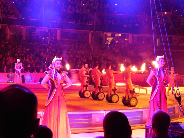 Our #OutofThisWorld night with Ringling Bros and Barnum and Bailey Circus   Fire