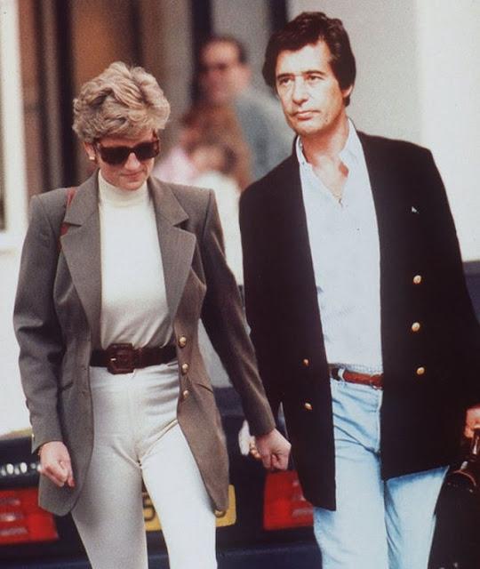 I segreti della principessa Diana: il suo amante Oliver Hoare è stato visto nudo al Palazzo Reale