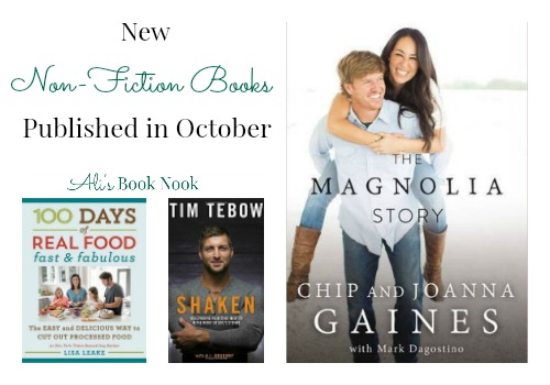 Nonfiction books being published in October