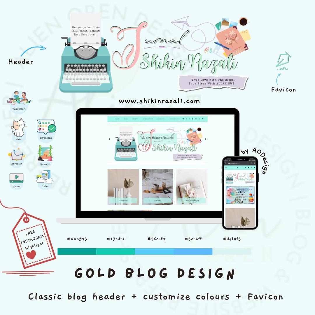 Blog Design Jurnal Shikin Razali