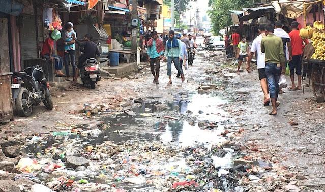 गांव अजरौंदा सेक्टर 15A में सड़क ना बनने पर दुकानदारों में रोष : बिजेंद्र सैनी