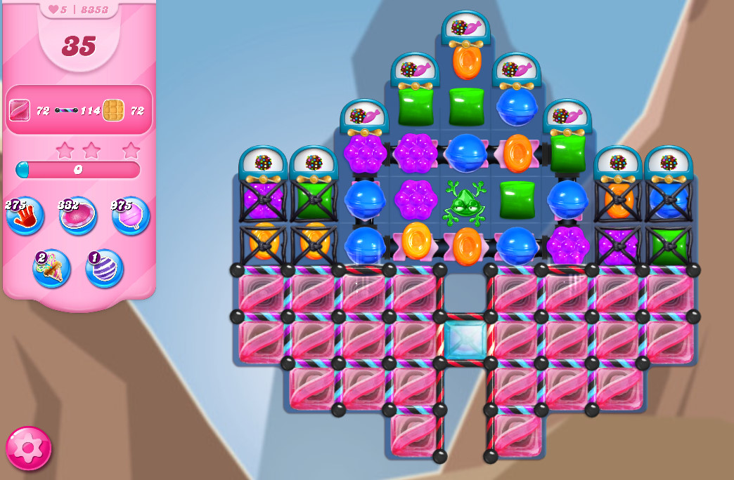 Candy Crush Saga level 8353