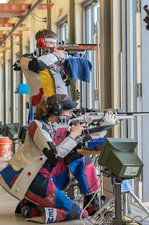Olahraga menembak adalah olahraga kompetitif yang melibatkan tes kemahiran  Sejarah Singkat Olahrga Menembak