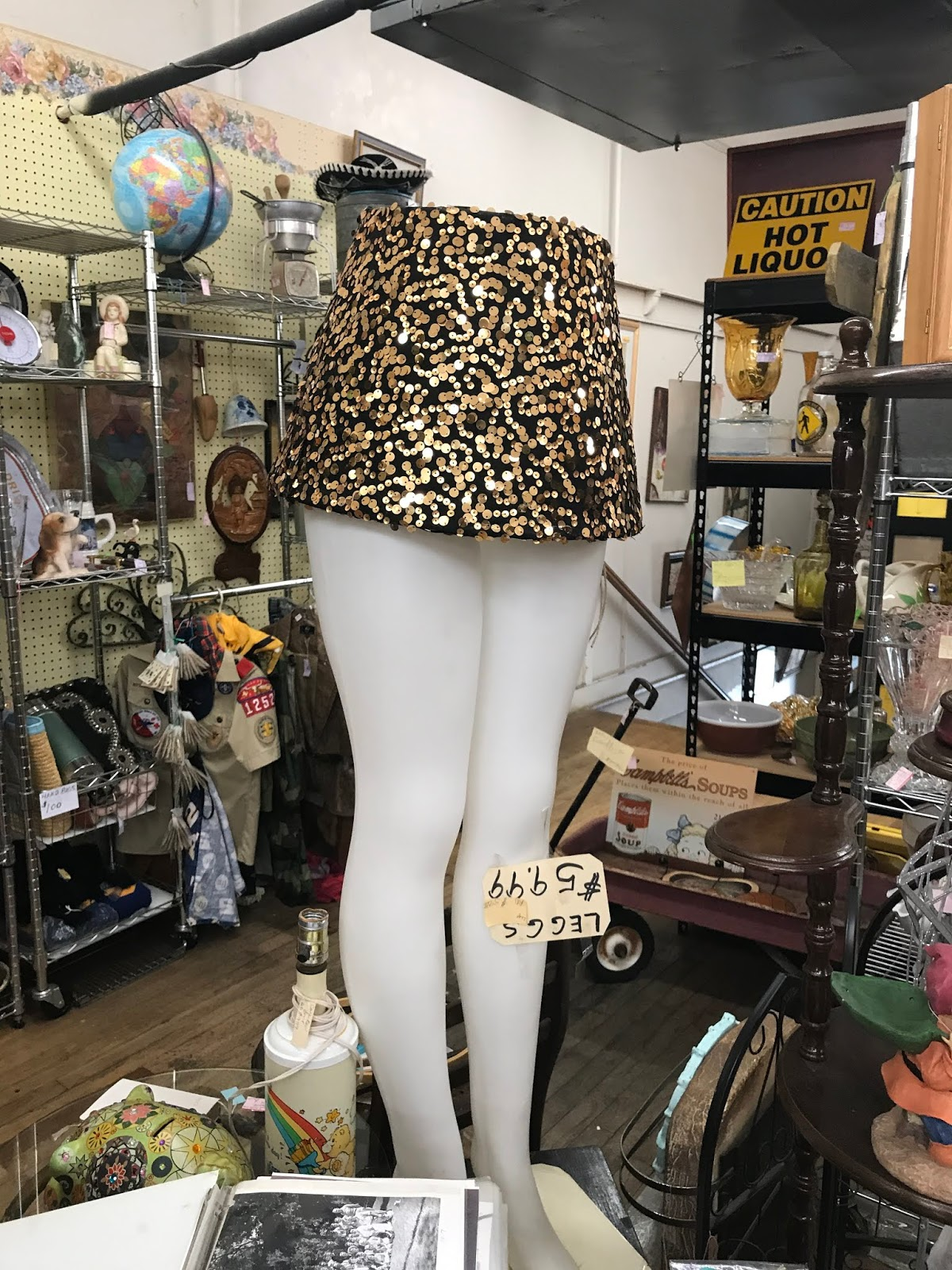 Image: Tall lamp legs at a thrift store in Dallas Texas:I am speaking about those simple living in the moments of aging. You know being happy about the process by letting go and really enjoying life. Finding a purpose and passion for the second half of living life.