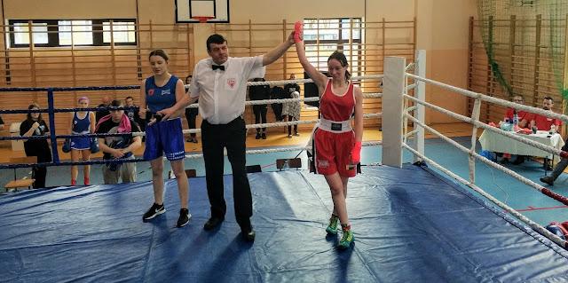 boks kobiet, Zielona Góra, sporty walki, OOM, Eliminacje, kadet, Klaudia Mazur, olimpiada