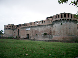 Imola's well-preserved Rocca Sforzesca dates back to the 14th century, when control was disputed by powerful families