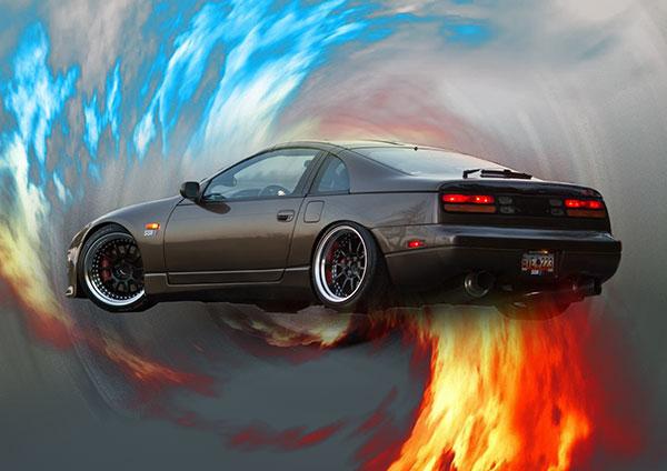 aag me car ka photo fire wallpaper