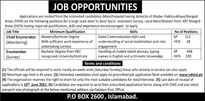 Latest Jobs  in National Skills Development Program - Po Box 2600 Islamabad 2021-Apply online