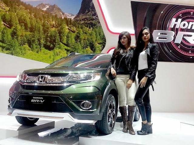 Honda  Honda BRV 2016 Xe Honda BRV 2016 phiên bản 7 chỗ hoàn toàn mới tại Việt Nam honda br v 1 kbos