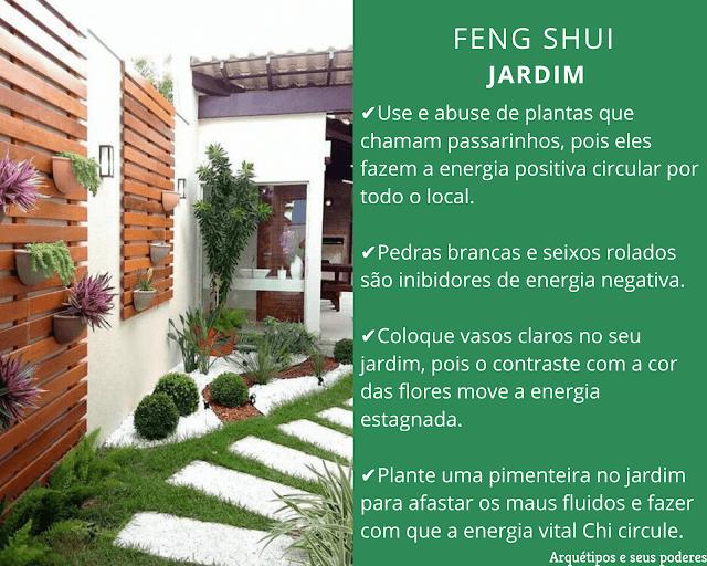 Jardim no Feng Shui