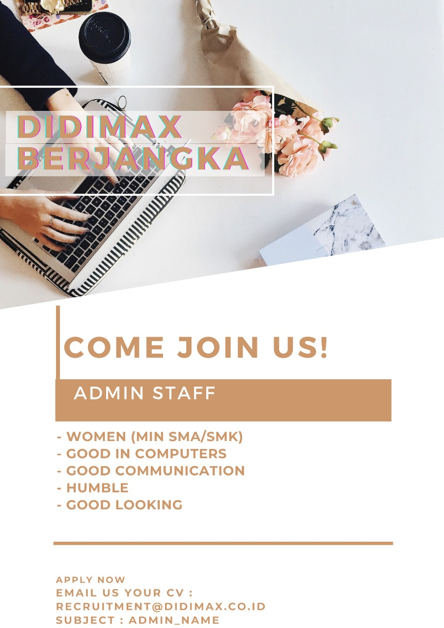 Lowongan Kerja Didimax Berjangka Bandung April 2021