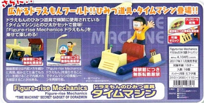 Figure-rise Mechanics de Doremi y Nobi Nobita and Time Machine - Bandai