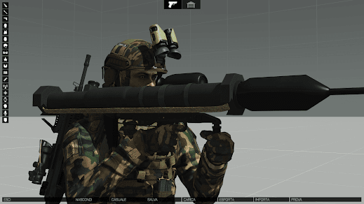 Arma3用イタリア軍MODのPanzerfaust 3