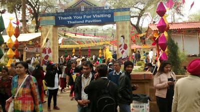 Thailand pavilion in Surajkund mela