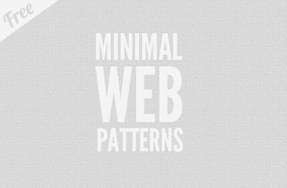 Free Minimal Web Patterns