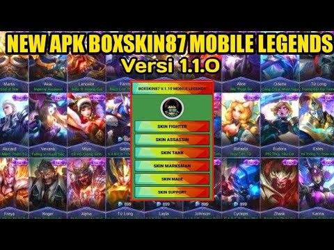 Mobile Legends: Bang Bang Kostüm Hileli APK - Boxskin v1.2.2