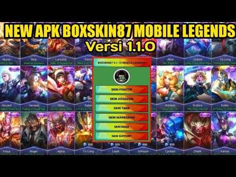 Mobile Legends Bang Bang Kostum Hileli Apk Boxskin V1 2 2