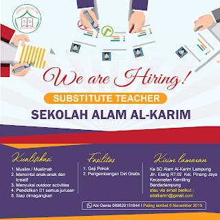 Sekolah Alam Al-Karim Lampung