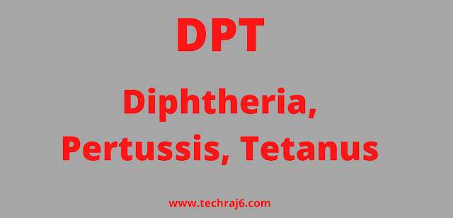 DPT full form, What is the full form of DPT
