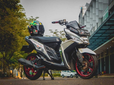 Modifikasi Motor Touring Mio M3