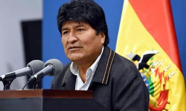 Gobierno mexicano confirma que Evo Morales solicitó asilo político en su país