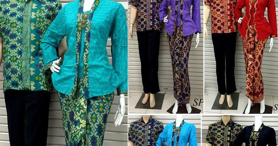 Baju Batik Couple Setelan Rok Dan Blus Spr