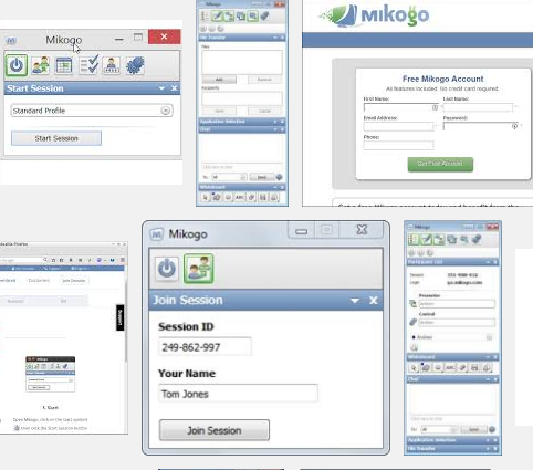 Mikogo Full Version: Windows,Mac,,Android,iOS