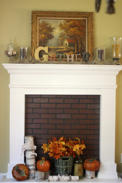 Golden Boys And Me Our Faux Fireplace