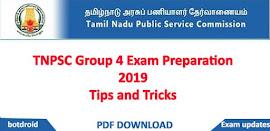 TNPSC Group 2A, SI Maths and Aptitude Reasoning study