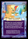 My Little Pony Hoofwrasslin' Canterlot Nights CCG Card