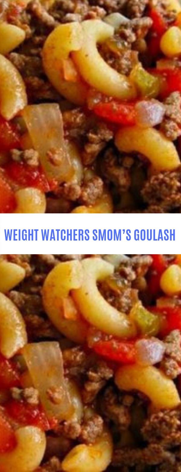 WEIGHT WATCHERS MOM'S GOULASH