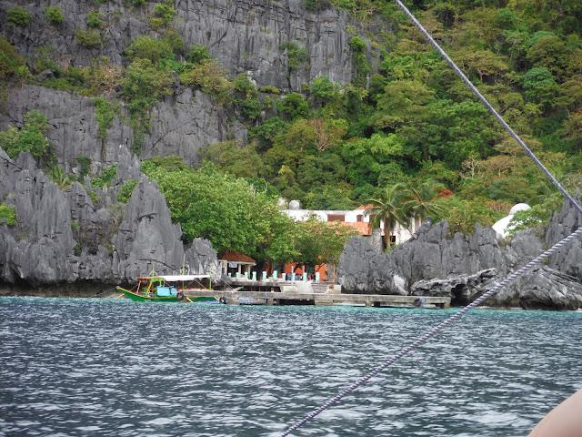 matinloc shrine el nido palawan philippines
