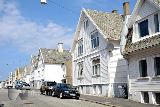 Uliczki Haugesund. Przewodnik po Haugesund w Norwegii