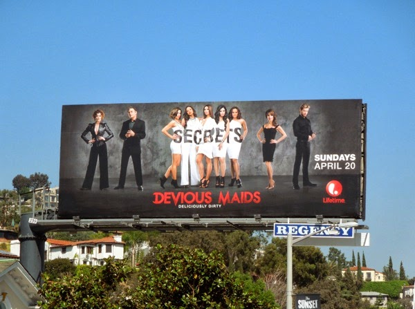 Devious Maids season 2 Lifetime billboard