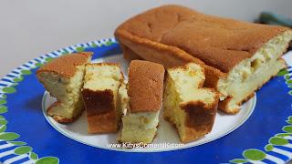 Light Banana Cake 輕盈香蕉蛋糕 自家烘焙 食譜 home baking recipes