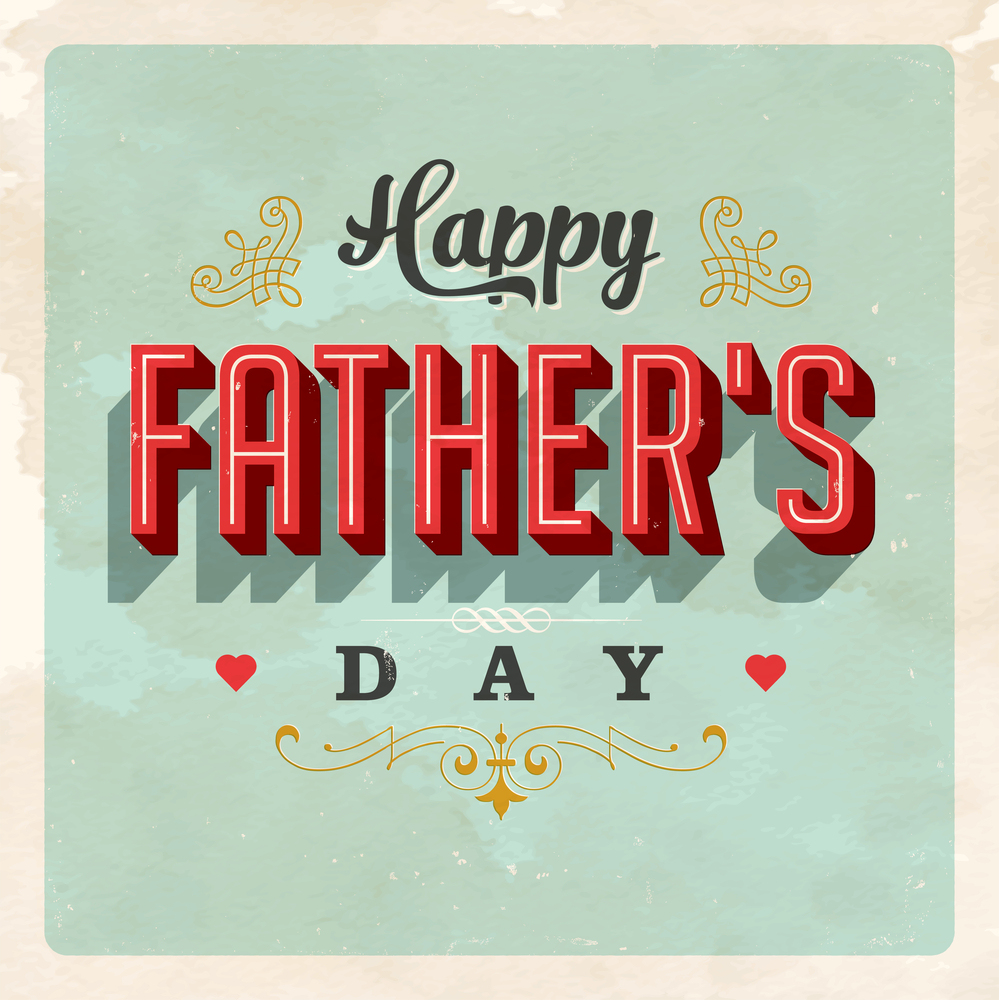 Image result for vintage happy father's day