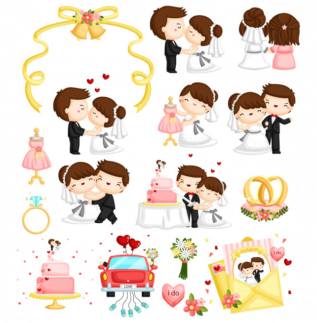 Vector wedding