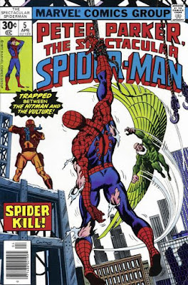 Spectacular Spider-Man #5, Vulture and the Hitman