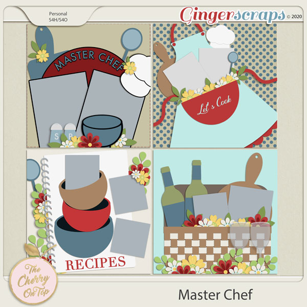 Master Chef Templates