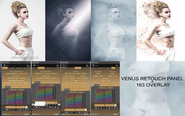 Venus Retouch Panel 1.6.1 Multilingual For Adobe Photoshop - Plugin mở rộng cần thiết