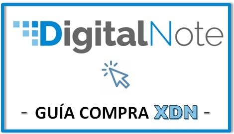 Cómo y Dónde Comprar Criptomoneda DIGITAL NOTE (XDN)