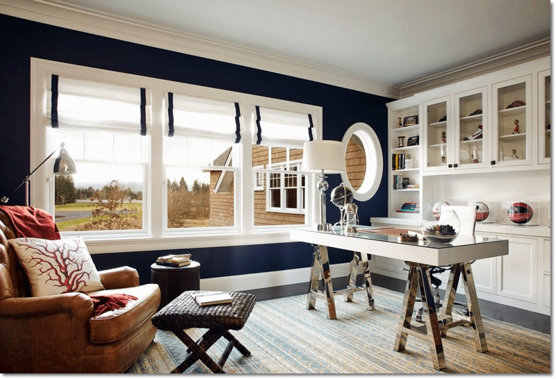 Beautiful Home Office Decorating Ideas and Trends 2020