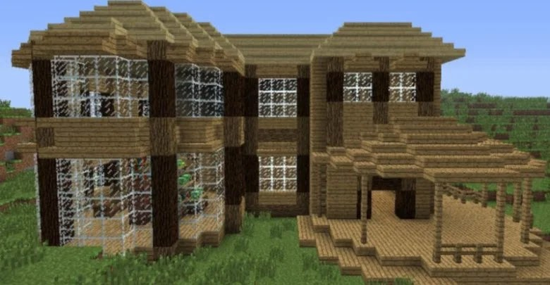 Minecraft: How to Build a Good House in Creative Mode