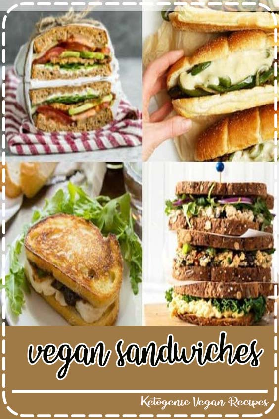 easy and delicious vegan sandwiches for you that are perfect for lunch  vegan sandwiches